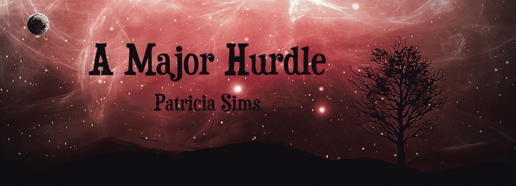 A Major Hurdle - Patricia Sims | HOME